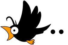 onomatopée du japonais corbeau