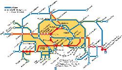 carte ligne Narita Express