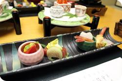 cuisine Kaiseki sashimi