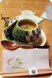cuisine Kaiseki soupe