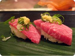 viande au Japon sushi de cheval